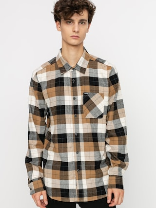 Volcom Caden Plaid Shirt (primer white)