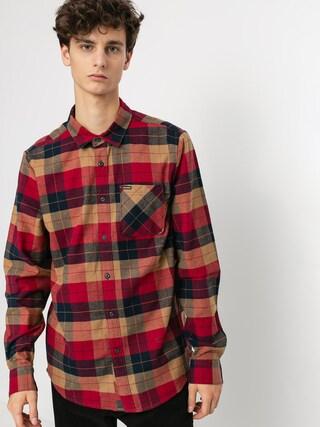 Volcom Caden Plaid Shirt (rio red)