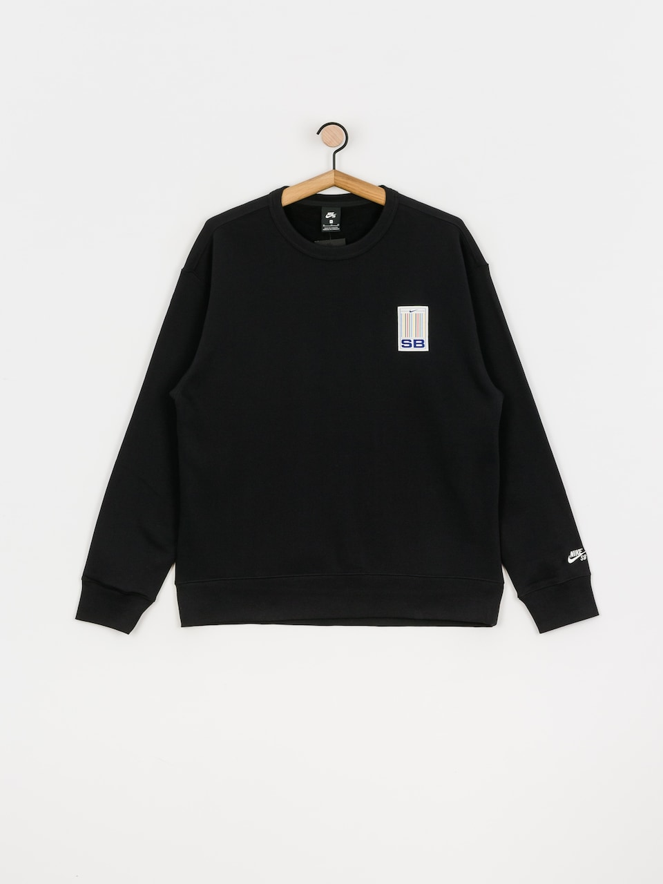 Nike SB Stripes Crew Sweatshirt (blackwhite)