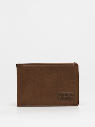 Quiksilver Slim Folder Wallet (chocolate brown)