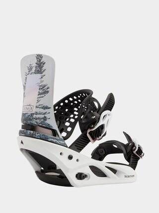 Burton Lexa X Snowboard bindings Wmn (feelgood white)