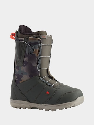 Burton Moto Snowboard boots (dark green/camo)