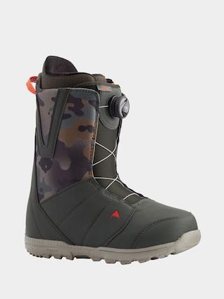 Burton Moto Boa Snowboard boots (dark green/camo)