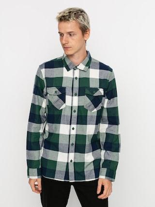 Vans Box Flannel Shirt (pine needle/dress blues)