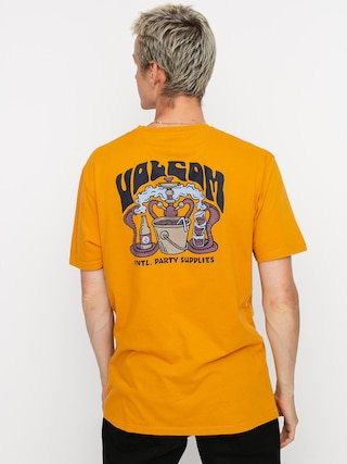 Volcom Pearys Ltw T-shirt (inca gold)