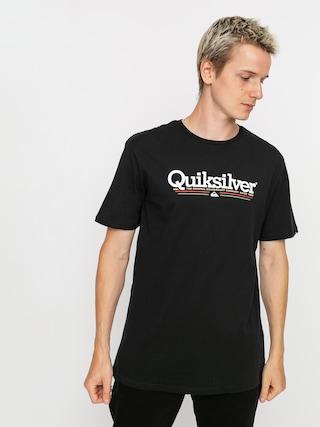 Quiksilver Tropical Lines T-shirt (black)