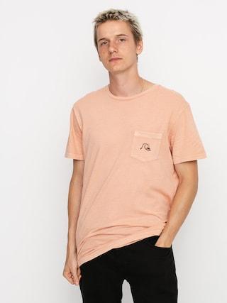 Quiksilver Basic Bubble Pocket T-shirt (henna)