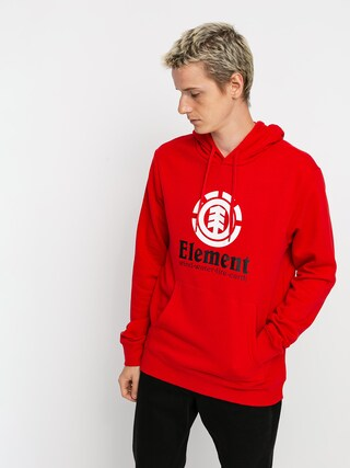 Element Vertical HD Hoodie (fire red)
