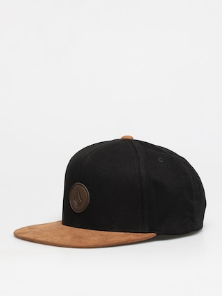 Volcom Quarter Fabric ZD Cap (brushed black)