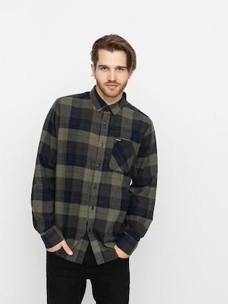 Volcom Caden Plaid Shirt (army green combo)