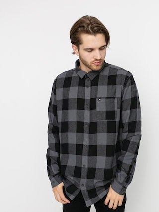 Quiksilver Motherfly Flannel Shirt (irongate motherfly)