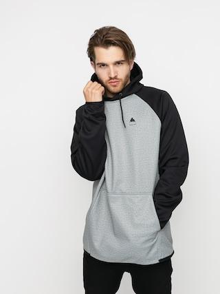 Burton Crown Weatherproof HD Active sweatshirt (gray heather/true black)