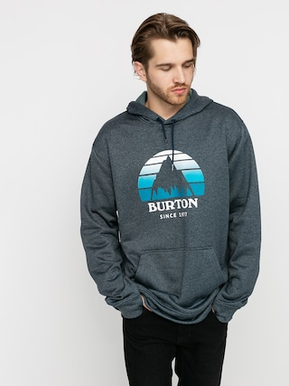 Burton Oak Seasonal HD Active sweatshirt (dress blue heather)