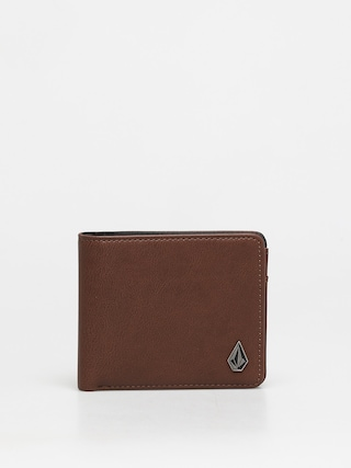 Volcom Slim Stone Pu Wlt S Wallet (brown)
