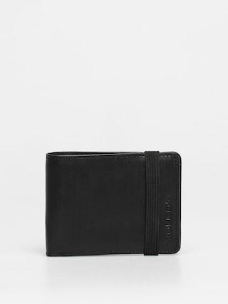 Volcom Halfstone Lth 2F Wlt Wallet (black)