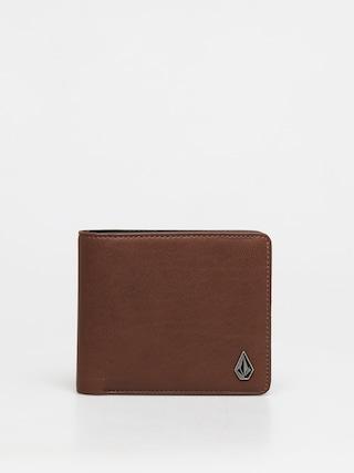 Volcom Slim Stone Pu Wlt L Wallet (brown)