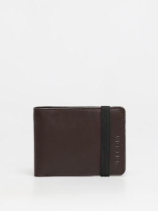 Volcom Halfstone Lth 2F Wlt Wallet (brown)