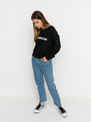 Volcom Truly Stoked Sweatshirt Wmn (black)