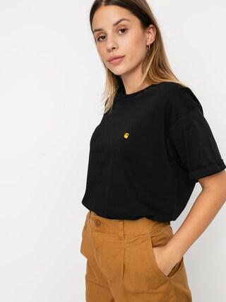 Carhartt WIP Chase T-shirt Wmn (black/gold)