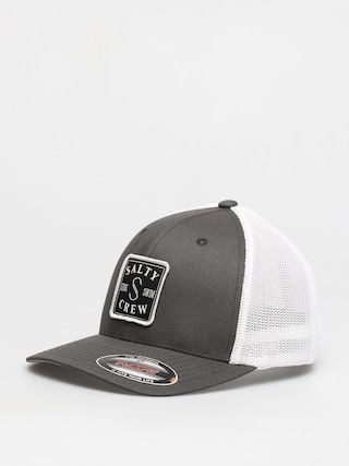 Salty Crew S Hook Retro Trucker ZD Cap (charcoal/white)
