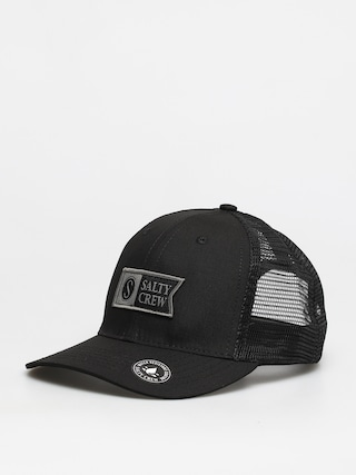 Salty Crew Pinnacle Retro Trucker ZD Cap (black)