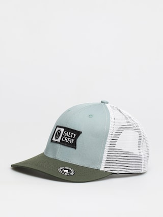 Salty Crew Pinnacle Retro Trucker ZD Cap (mist/olive)
