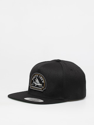Salty Crew Flyer 5 Panel ZD Cap (black)