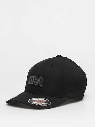 Salty Crew Alpha Tech 6 Panel ZD Cap (black)