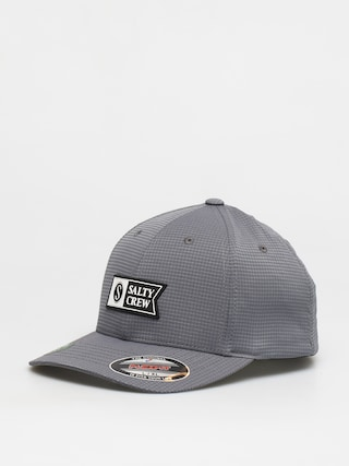 Salty Crew Alpha Tech 6 Panel ZD Cap (grey)