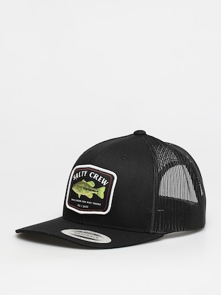 Salty Crew Bigmouth Retro Trucker ZD Cap (black)