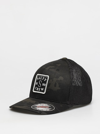 Salty Crew S Hook Retro Trucker ZD Cap (multicam black)
