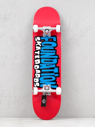 Foundation From The 90s Skateboard (red)