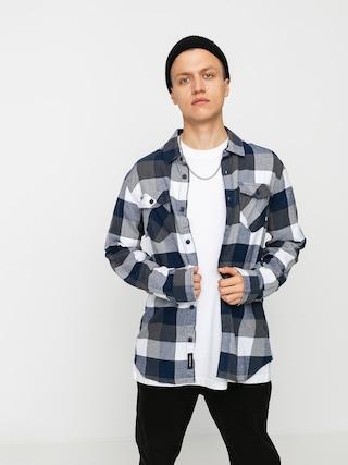 Vans Box Flannel Shirt (white/dress blues)
