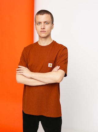 Carhartt WIP Pocket T-shirt (brandy)