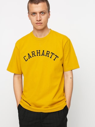 Carhartt WIP University T-shirt (colza/black)