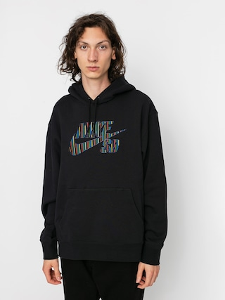 Nike SB Stripes HD Hoodie (black)