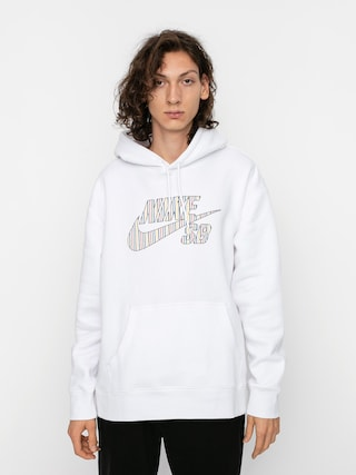 Nike SB Stripes HD Hoodie (white)