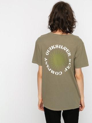 Quiksilver Earth Core T-shirt (kalamata)