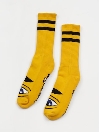 Toy Machine Sect Eye Socks (mustard)