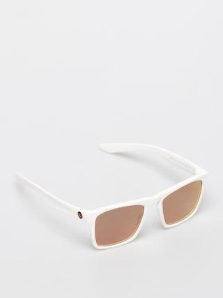 Dragon Drac Sunglasses (matte white/ll rose gold ion)