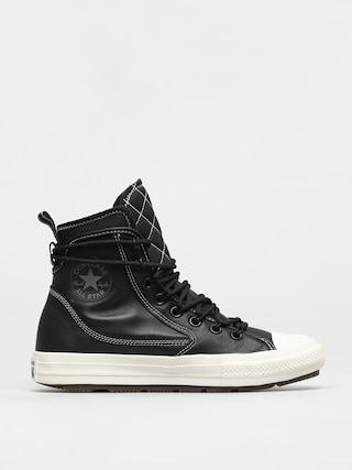 Converse CTAS All Terrain Leather Shoes (black/black/egret)