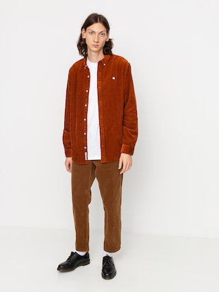 Carhartt WIP Madison Cord Shirt (brandy/wax)