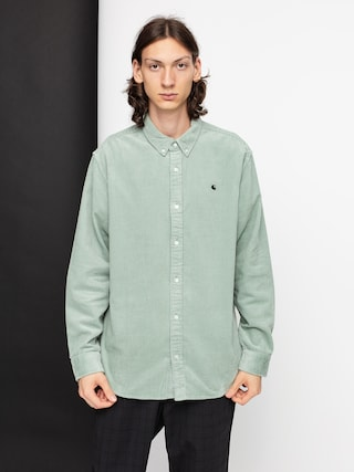 Carhartt WIP Madison Cord Shirt (frosted green/black)