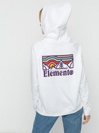 Element Landscape HD Hoodie Wmn (optic white)