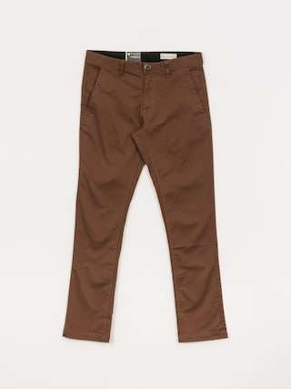 Volcom Frickin Slim Chino Pants (vintage brown)