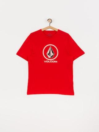 Volcom Crisp Stone Bsc T-shirt (fiery red)