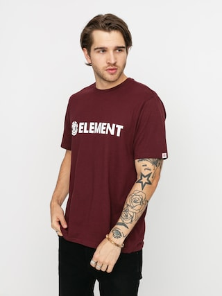 Element Blazin T-shirt (vintage red)