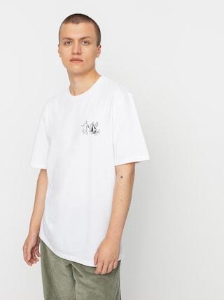 Volcom X Girl Skateboards Stonely Rlx T-shirt (white)