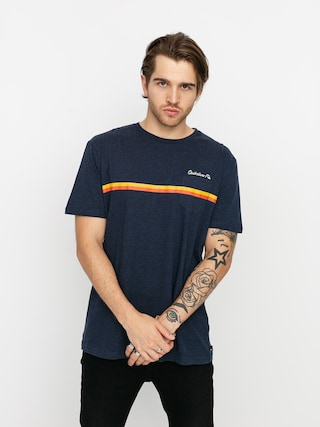 Quiksilver High Piped T-shirt (navy blazer heather)
