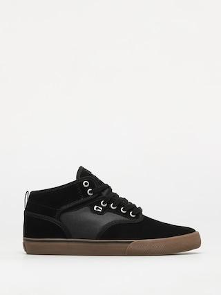 Globe Motley Mid Shoes (black/gum/white)